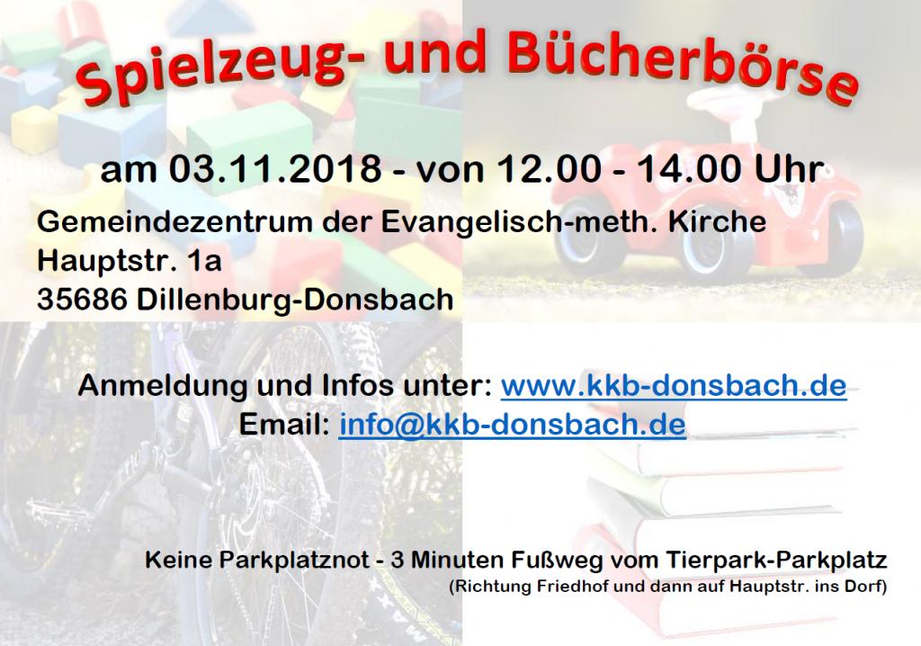 Kinderkleider- und Spielzeugbörse Donsbach